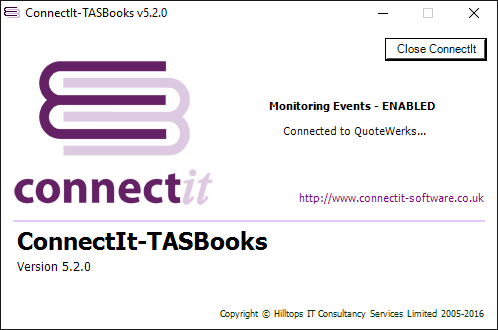 QuoteWerks / TASBooks integration